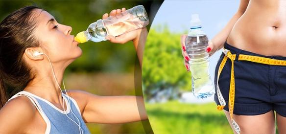 agua mineral ayuda a bajar de peso